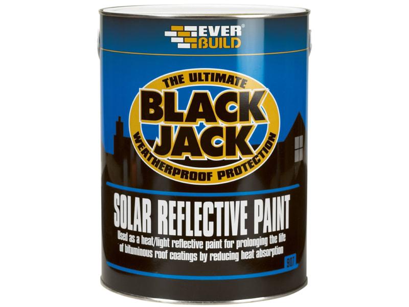 Everbuild Black Jack 907 Solar Reflective Paint 5 Litre
