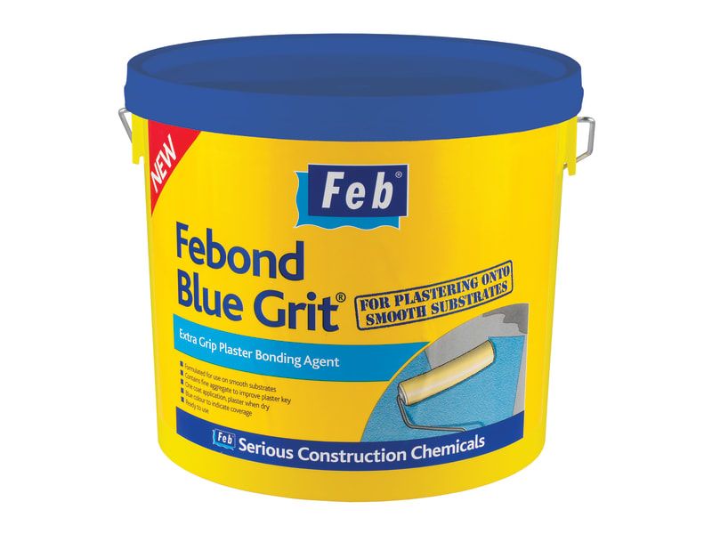EverBuild Febond Blue Grit 10 Litre