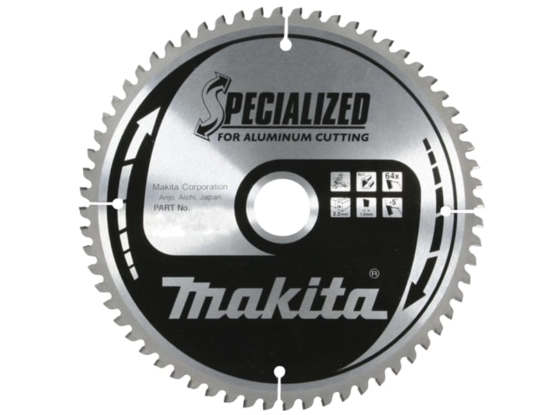 Makita B-09553 Specialized for Aluminium Cutting Blade 160 x 20mm x 60T