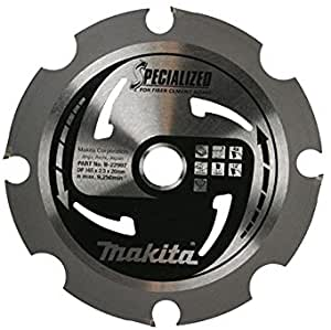 Makita PCD Cement Board Circular Saw Blade 165 x 20mm x 4T
