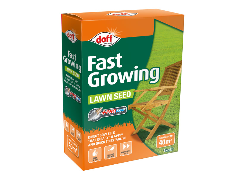 Doff Fast Growing Lawn Seed 1kg