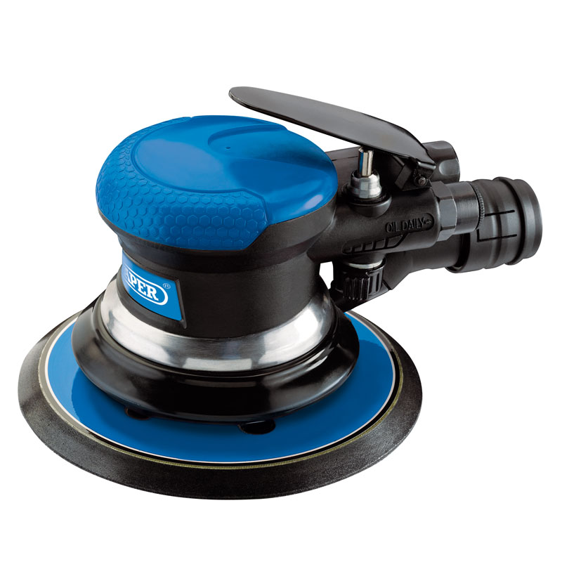 DRAPER Dual Action Dust Free Air Sander