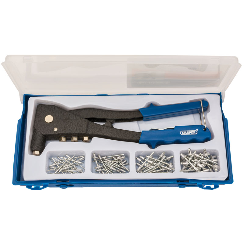 Draper Hand Riveter Kit For Aluminium Rivets