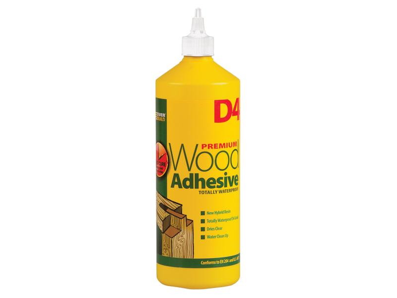 Everbuild D4 Wood Adhesive 1 Litre