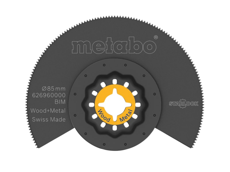 Metabo Starlock BIM Segment Saw Blade 85mm
