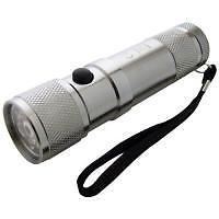 Am-tech 8-led And Laser Light Aluminium Torch