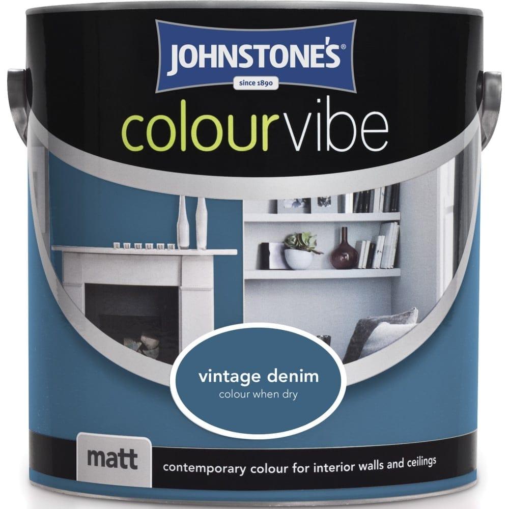 Colour Vibe Matt Emulsion Paint 2.5l - Vintage Denim