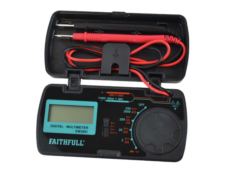 Faithfull Pocket Portable Multimeter