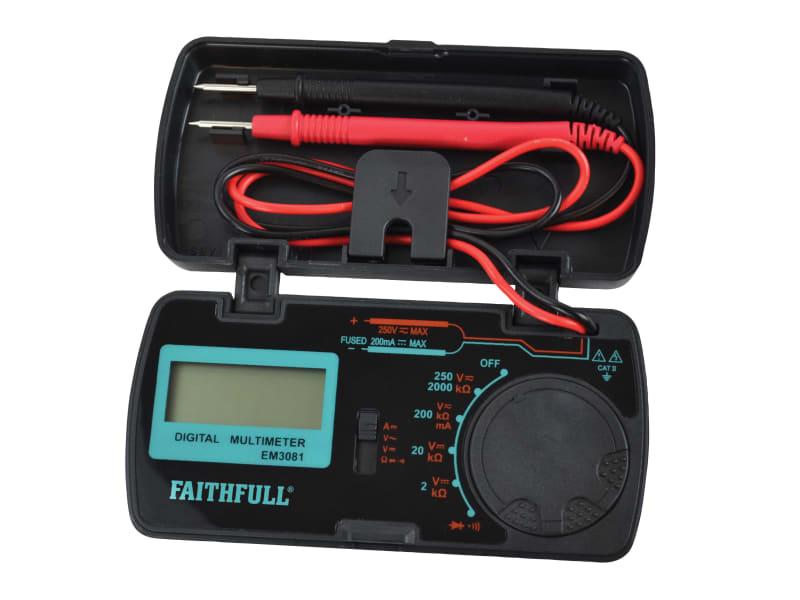 Faithfull Pocket Portable Multimeter