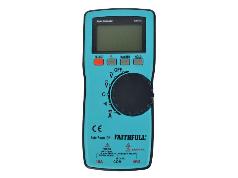 Faithfull Auto-range Digital Multimeter