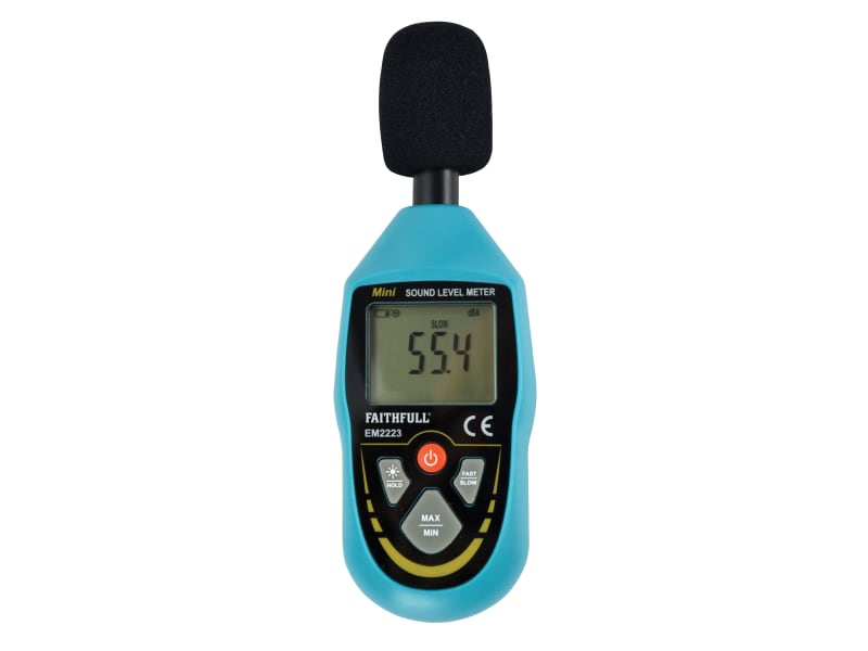 Faithfull Digital Sound Level Meter