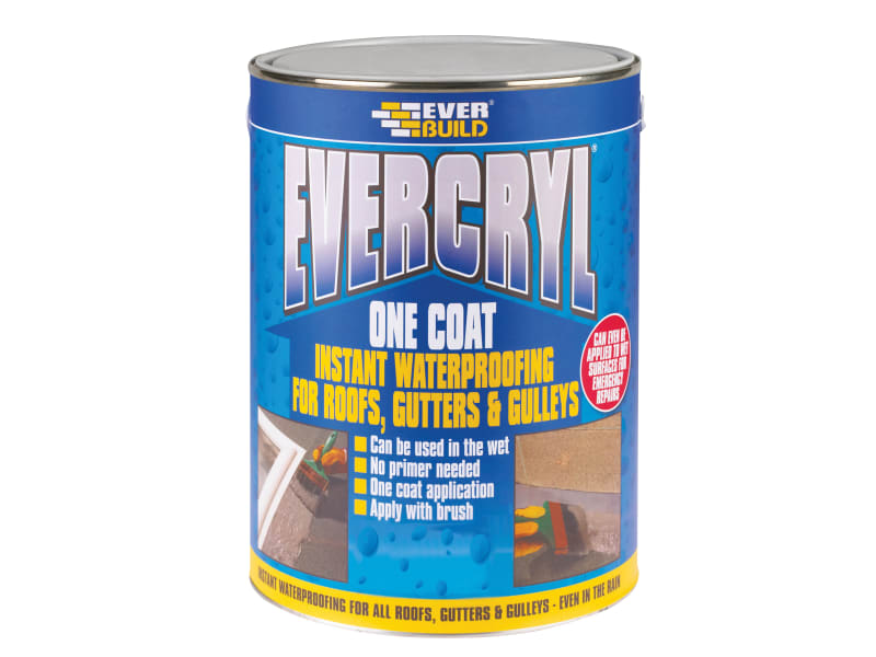 Everbuild EVERCRYL® One Coat White 5kg