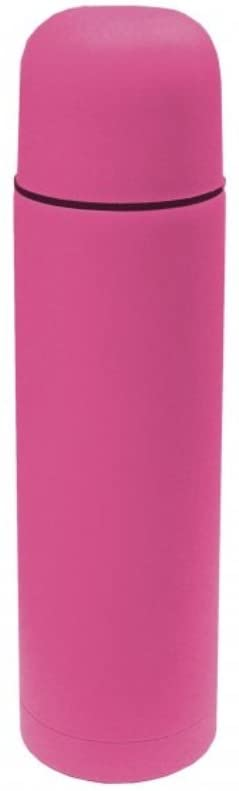 Faithfull Vacuum Flask Stainless Steel 500ml Soft Feel Pink