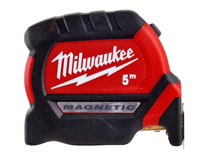 Milwaukee Hand Tools GEN III Magnetic Tape Measure 5m (Width 27mm) (Metric only)