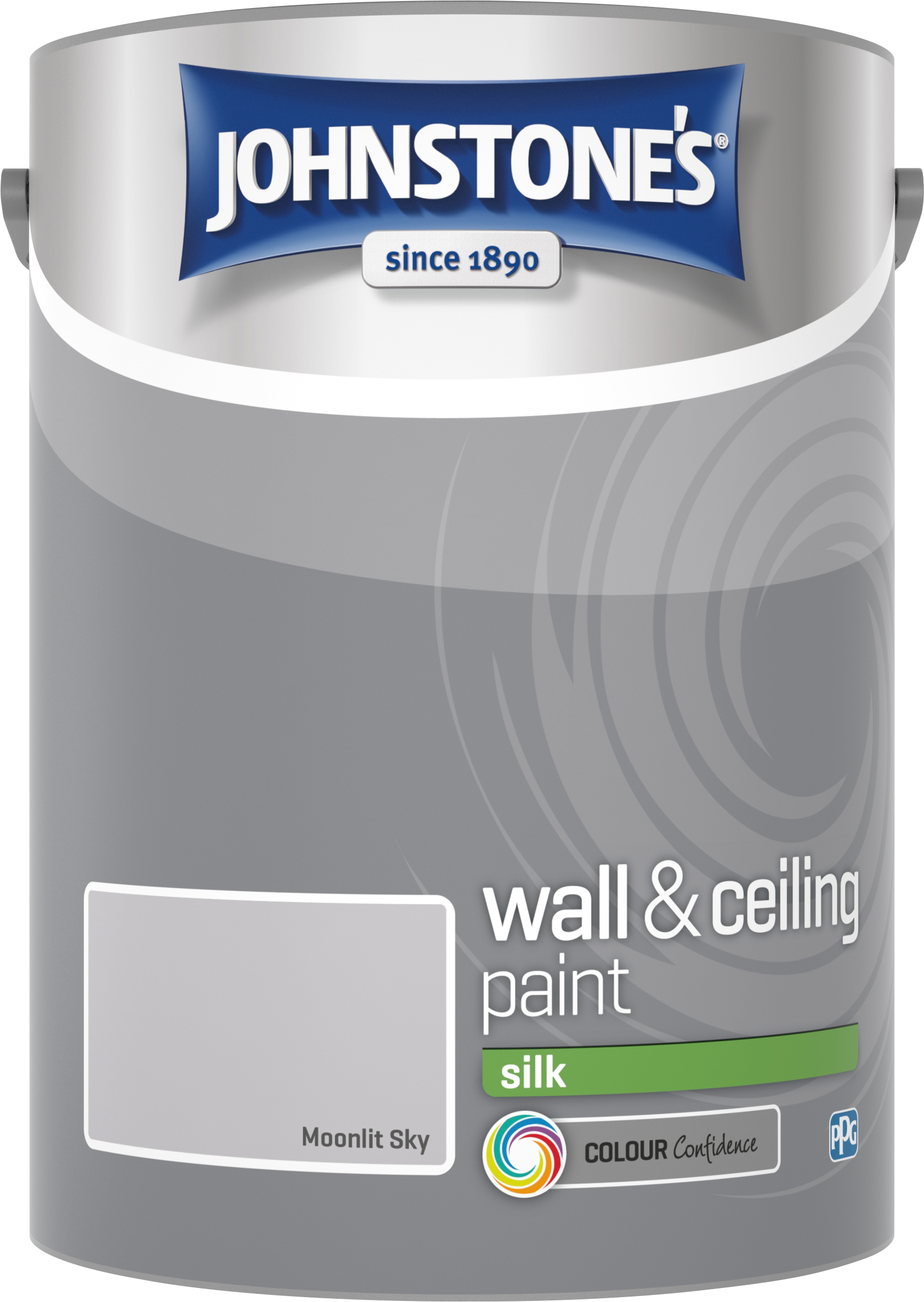 Johnstone's 307070 5 Litre Silk Emulsion Paint - Moonlit Sky