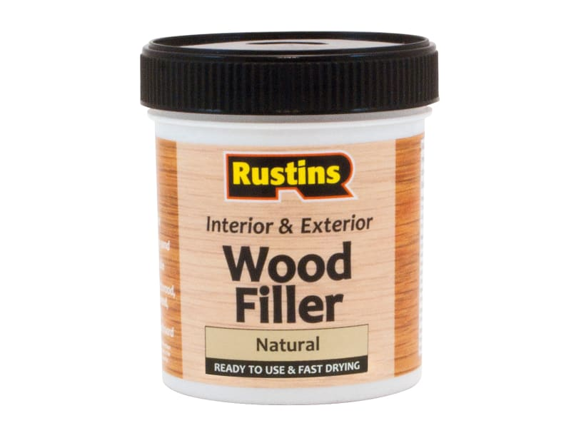 Rustins Acrylic Wood Filler Natural 250ml