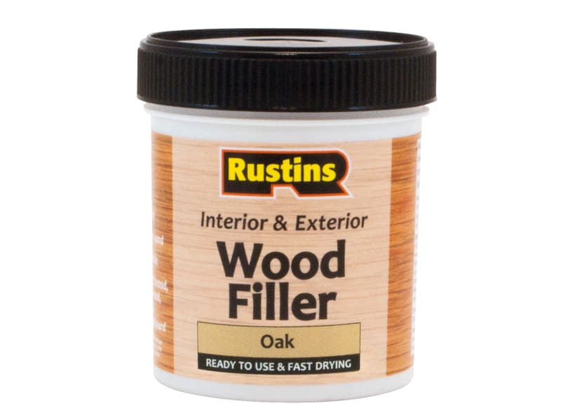 Rustins Acrylic Wood Filler Oak 250ml