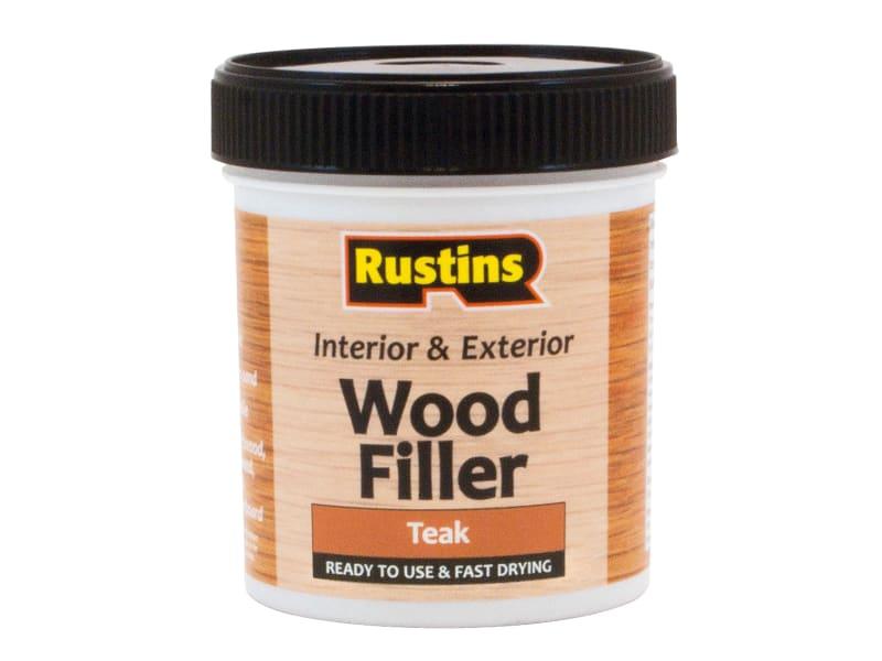 Rustins Acrylic Wood Filler Teak 250ml