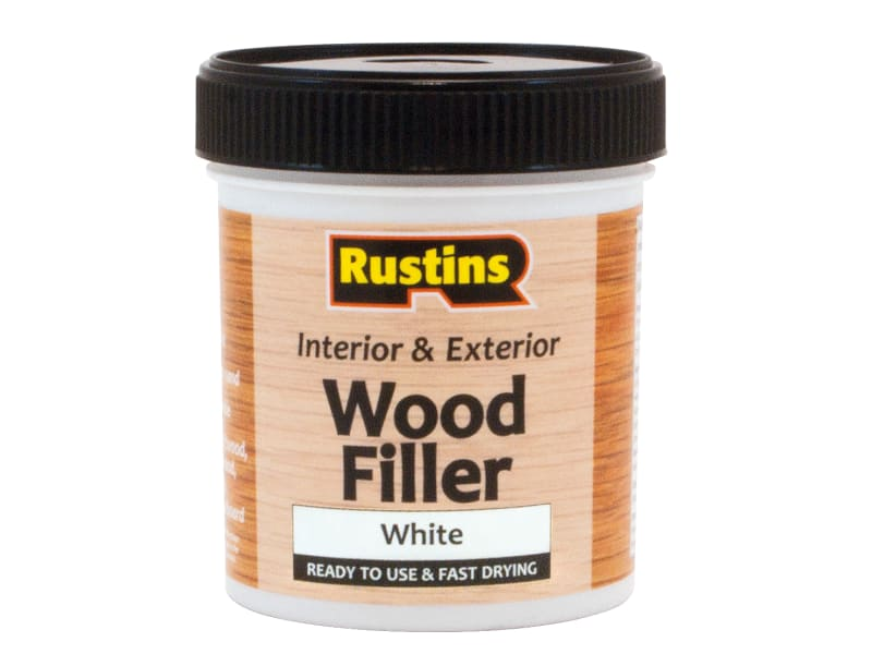 Rustins Acrylic Wood Filler White 250ml