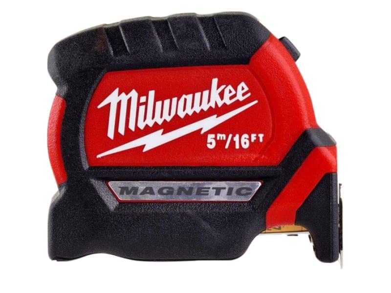 Milwaukee Hand Tools GEN III Magnetic Tape Measure 5m/16ft (Width 27mm)