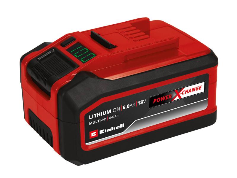 Einhell Power X-Change Multi-Ah Battery 18V 4-6Ah Li-ion
