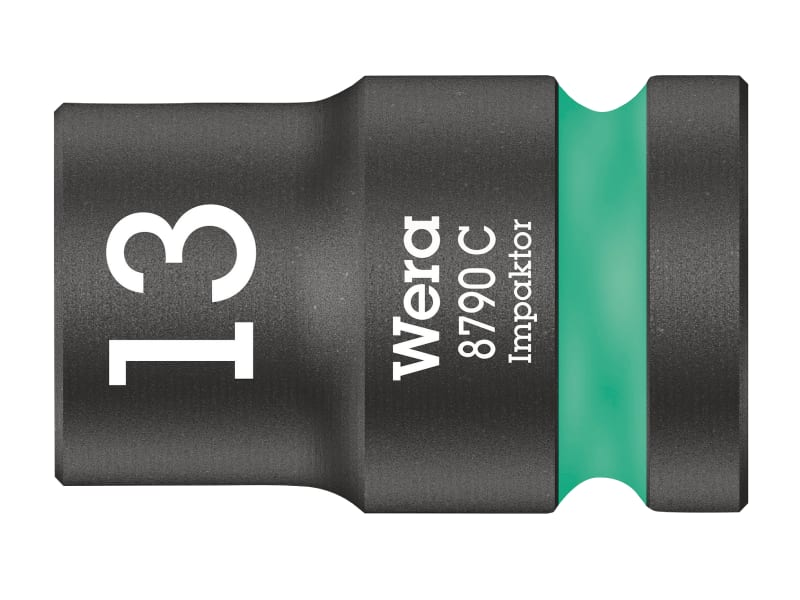 Wera 8790 C Impaktor Socket 1/2in Drive 13mm