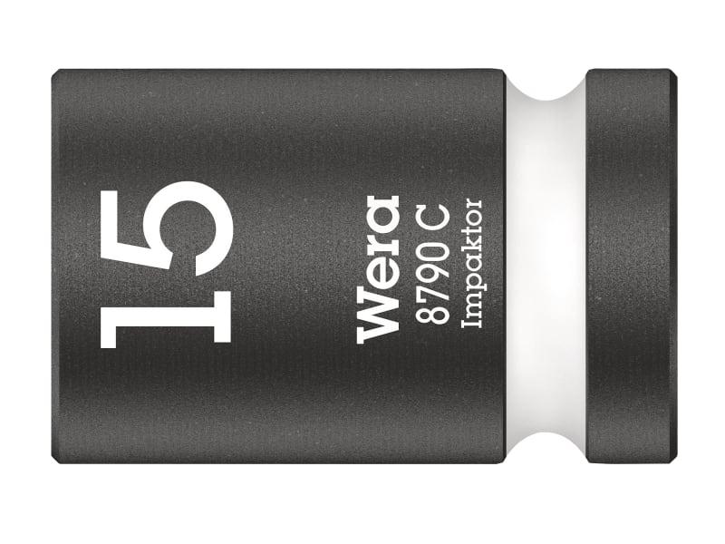 Wera 8790 C Impaktor Socket 1/2in Drive 15mm