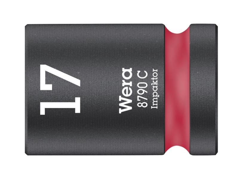 Wera 8790 C Impaktor Socket 1/2in Drive 17mm