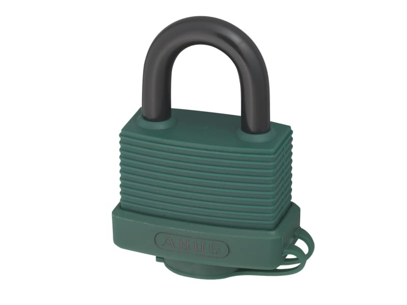 ABUS Mechanical 70AL/45 45mm Aluminium Padlock Green Keyed Alike