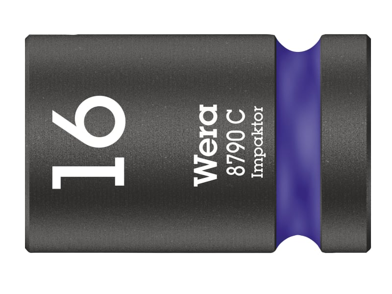 Wera 8790 C Impaktor Socket 1/2in Drive 16mm