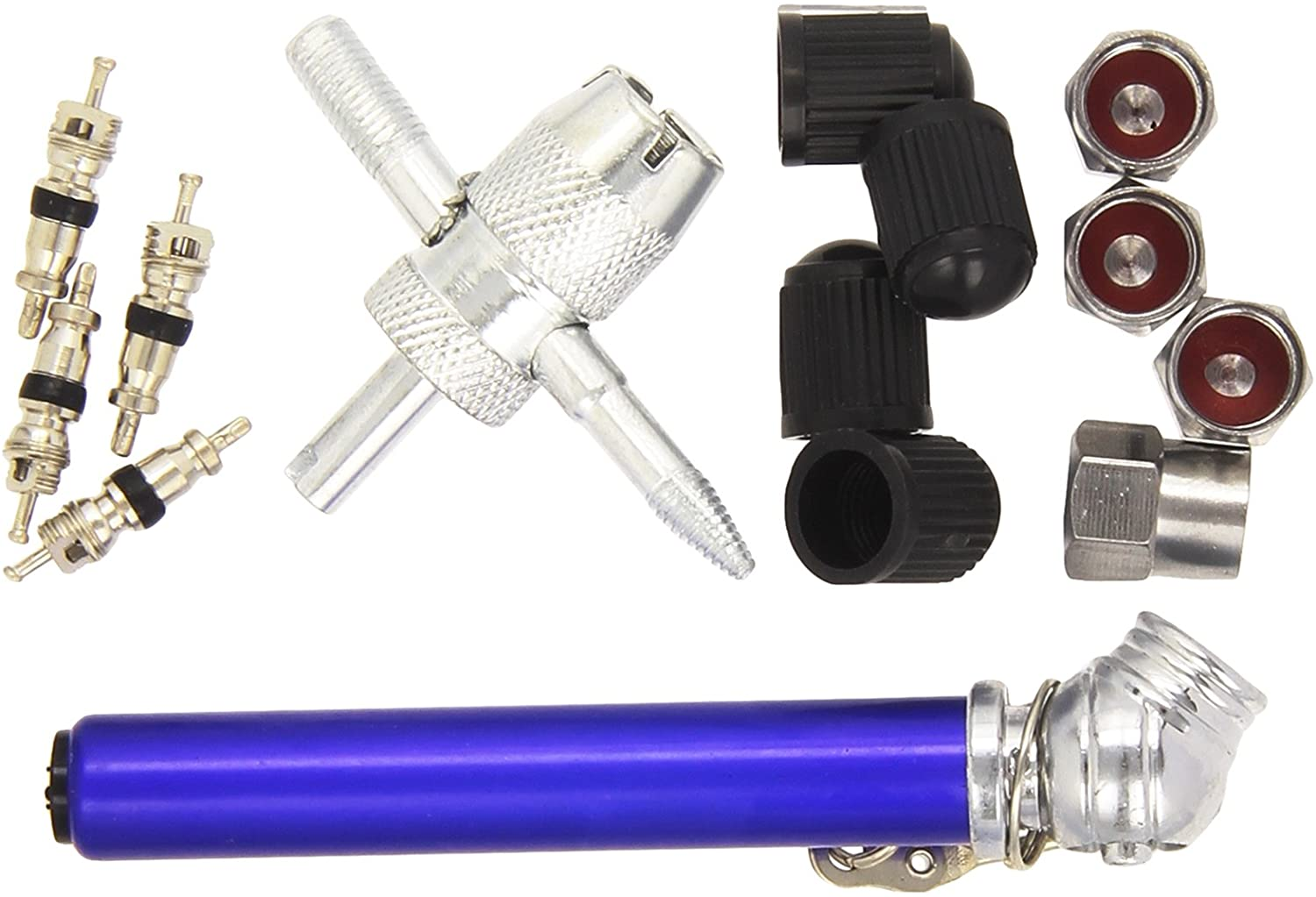 Silverline Tyre Valve Repair Kit 14pce 10 - 50psi