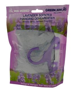Green Jem 500ml Lavender Scented Hanging Dehumidifier