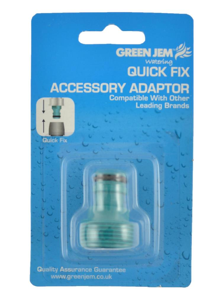 Green Jem Quick Fix Tool Adaptor