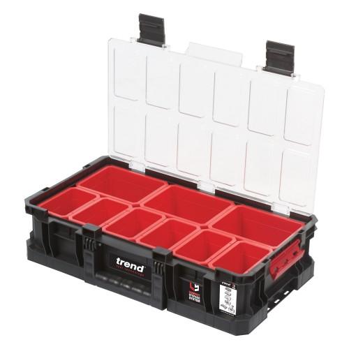 Trend Modular Storage Compact Box 100mm C/w 9 Bins