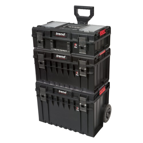 Trend Pro Modular Storage 3 Piece Cart Set
