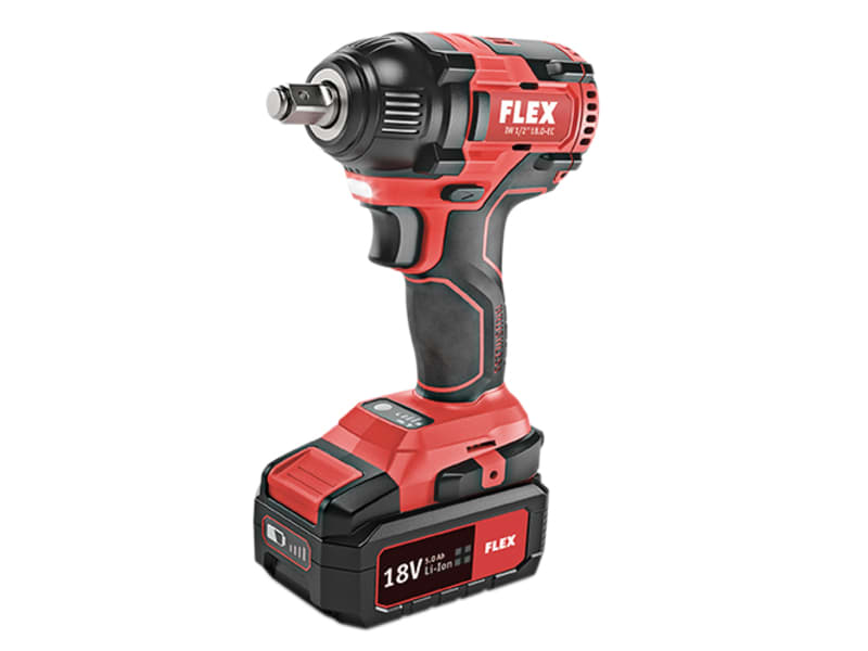 Flex Power Tools 1/2in Impact Wrench 18V 2 x 5.0Ah Li-ion