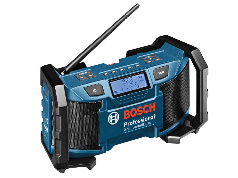 Bosch GML SoundBOXX AM/FM Radio 240V & Li-ion, Bare Unit