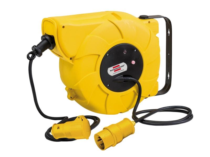 Brennenstuhl Auto Cable Reel 110V 16A 1-Socket 16+2m
