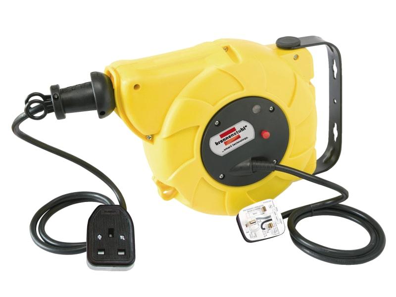 Brennenstuhl Auto Cable Reel 240V 13A 1-Socket 9+2m