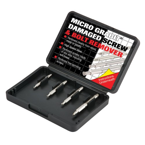 Trend Grabit Screw Extractor Set - 4 Piece Set