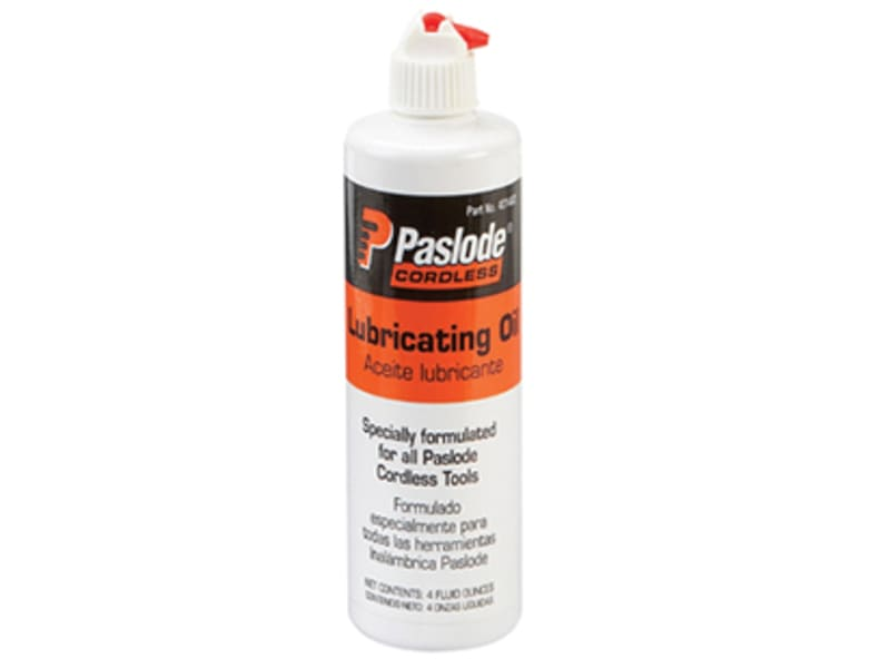 Paslode Cordless Nailer Lubrication Oil 113ml (4oz)