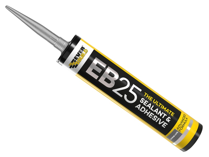 Everbuild EB25 Hybrid Sealant Adhesive Anthracite 300ml