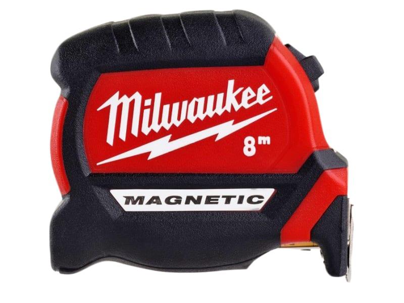 Milwaukee Hand Tools GEN III Magnetic Tape Measure 8m (Width 27mm) (Metric only)
