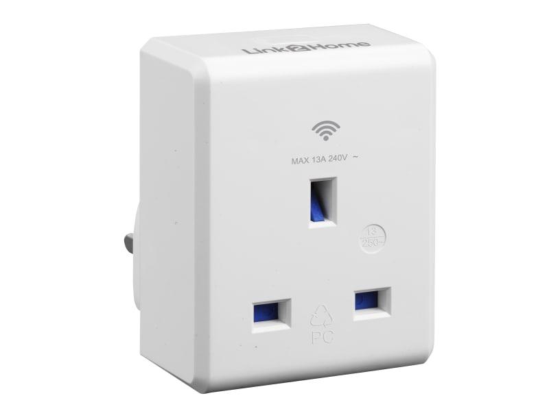 Link2Home Wi-Fi Plug-in Socket 13 amp