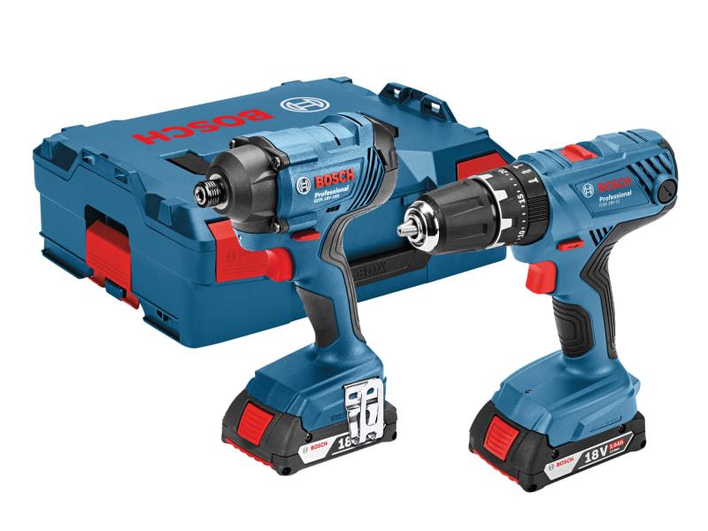 Bosch 06019G5172 Twin Pack 18V 2 x 2.0Ah Li-ion