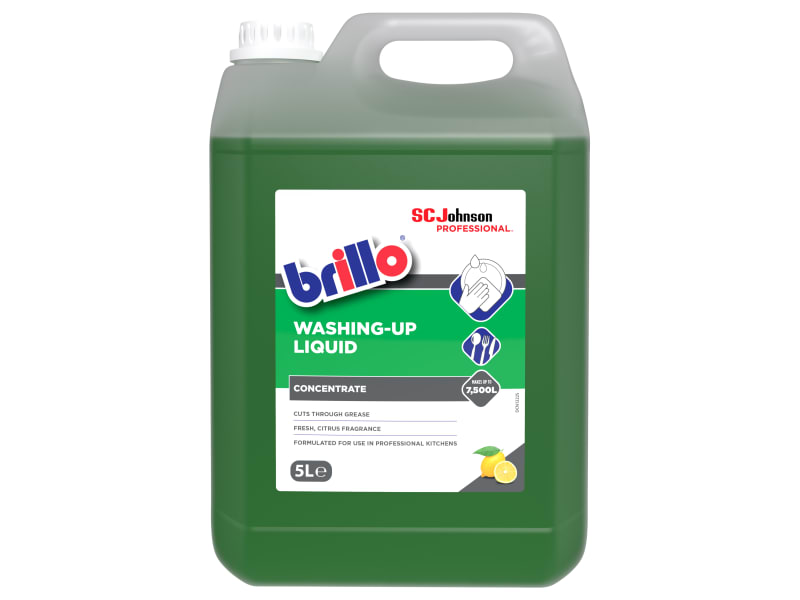 SC Johnson Professional Brillo Washing-Up Liquid 5 litre