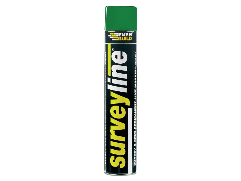 Everbuild Survey Line Marker Spray Green 700ml
