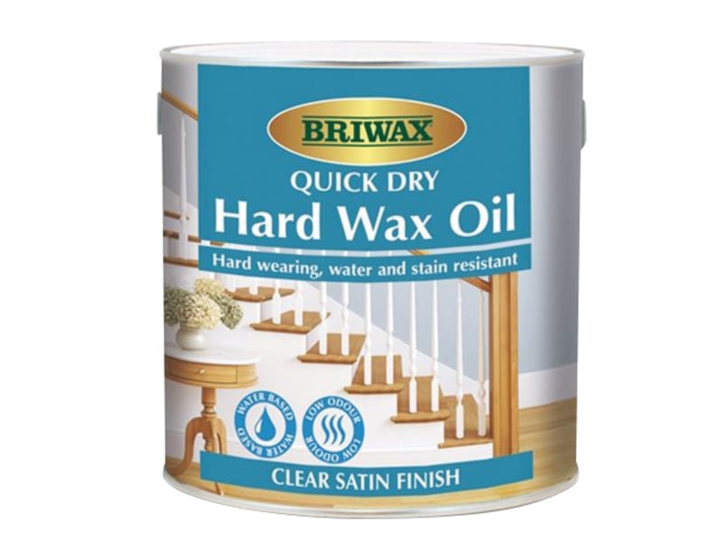 Briwax Quick Dry Hard Wax Oil 1 litre