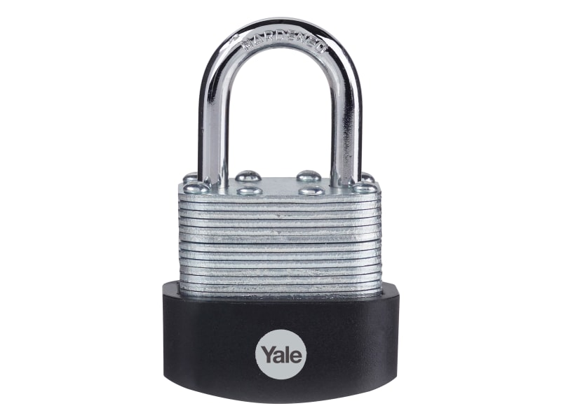 Yale Locks Laminated Steel Padlock 40mm (Pack 3)