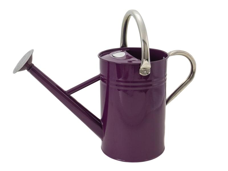 Kent & Stowe Metal Watering Can Deep Violet 4.5 litre